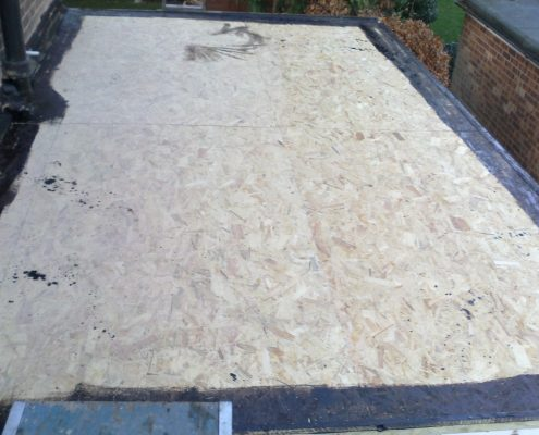 3-Ply Flat Felt Roofing Project in Sutton, Surrey 2