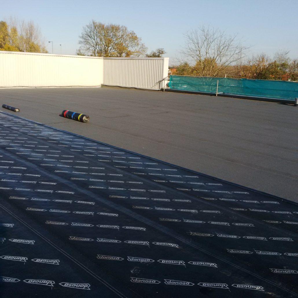 Felt Flat Roofing C F Roofing Surrey