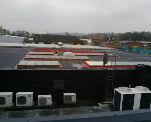 Flat Felt Roofing Project in Guildford 10