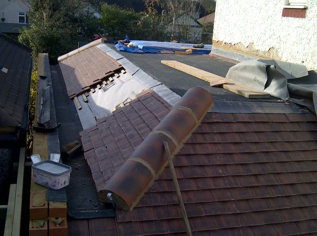 Domestic Flat And Tiled Roofing Project In Worcester Park