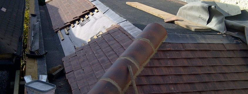 Flat and Tiled Roofing in Worcester Park 03