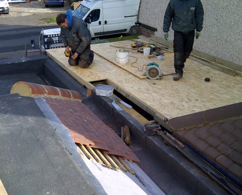 Flat and Tiled Roofing in Worcester Park 04
