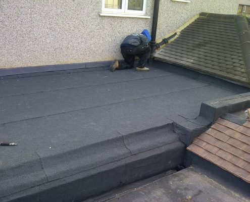 Flat and Tiled Roofing in Worcester Park 06