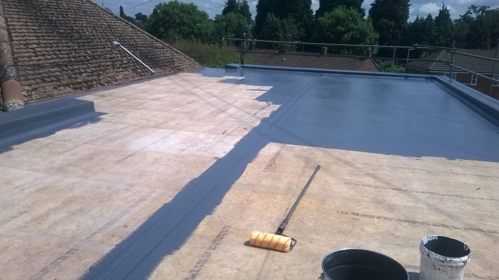 Grp Flat Roofing C F Roofing Surrey