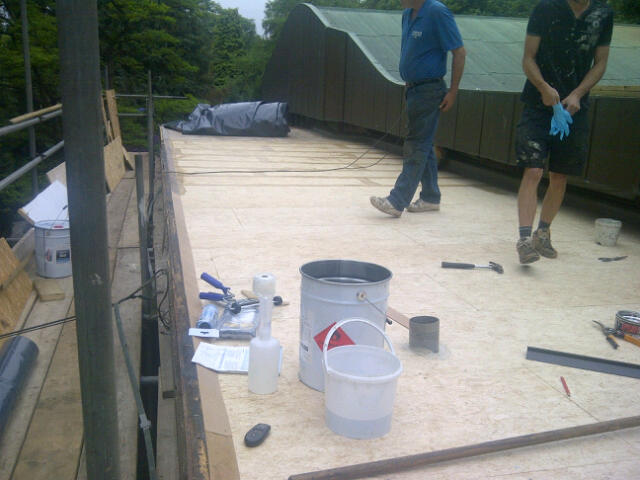 Domestic Grp Roofing Project In Tadworth Surrey C F