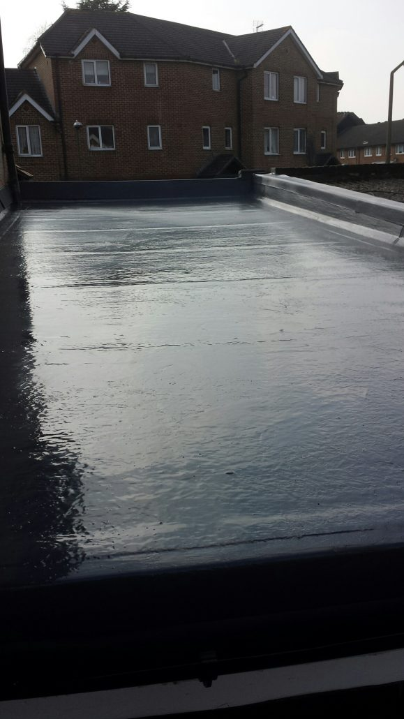 Replacement Grp Roofing Project In Carshalton C F