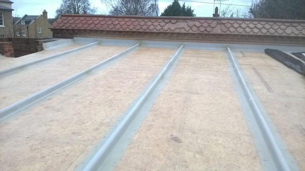 Grp Roofing Project At Effingham Golf Club In Leatherhead