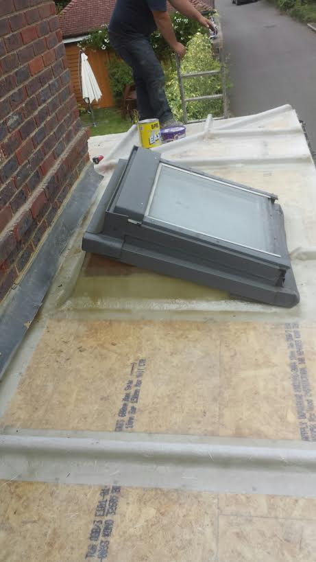 Grp Ground Floor Roof In Ewell C F Roofing Surrey