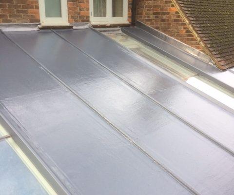 Grp Fiberglass Roof In Rose Walk Purley Surrey Cr8 C