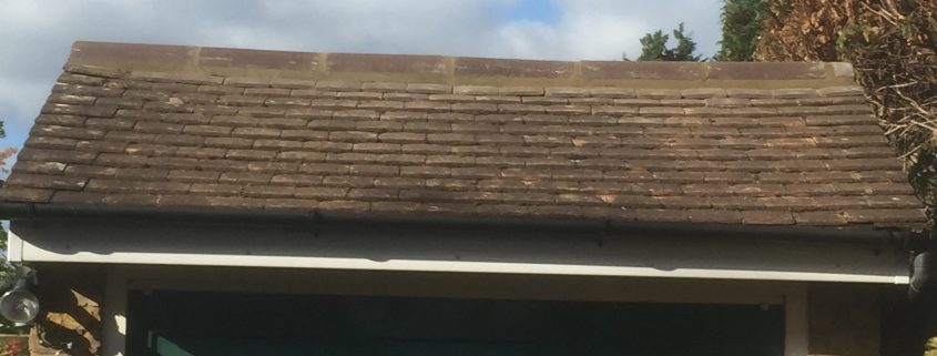 After: Garage Flat Felt Roofing - New Haw, Surrey 005