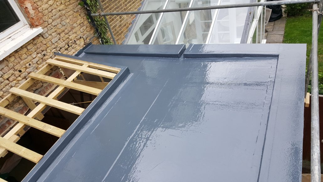 Grp Fiberglass Roofing In West Park Road Richmond Surrey
