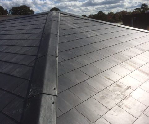 Slate Roofing Ashford Park Primary School, Staines 004