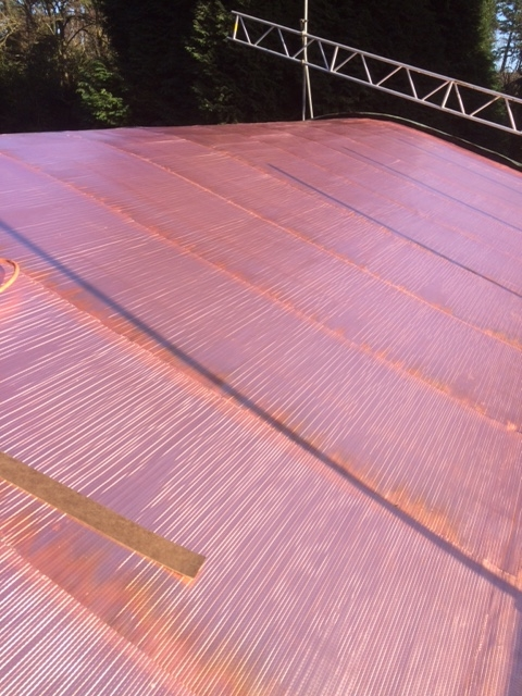 New Copper Roof In Tadworth Surrey C F Roofing Surrey