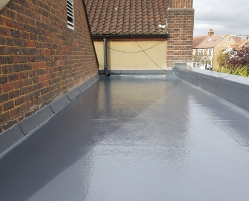 New GRP Roof in Cheam, Surrey 1