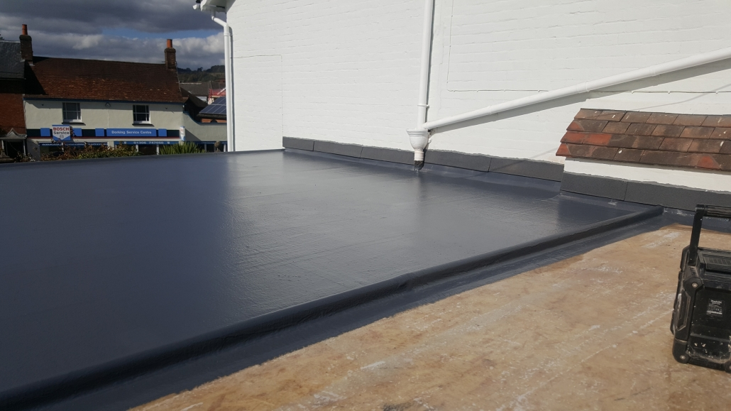 New GRP Roof in Dorking, Surrey – C F  Roofing Surrey
