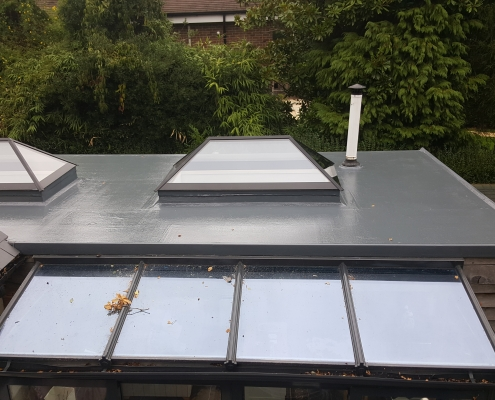 ew GRP Roof in Virginia Waters, Surrey 003