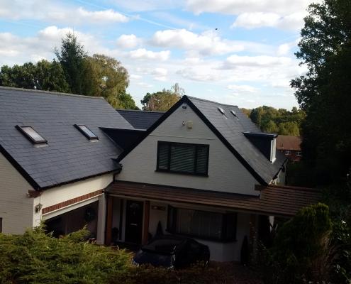 Tiled Roof Virginia Waters 003