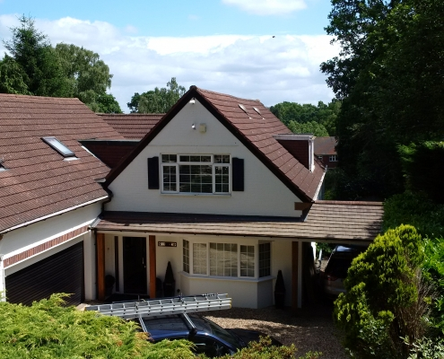 Tiled Roof Virginia Waters 005